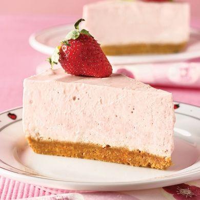 Gâteau au fromage et aux fraises - Desserts - Recettes 5-15 - Recettes express 5/15 - Pratico Pratique