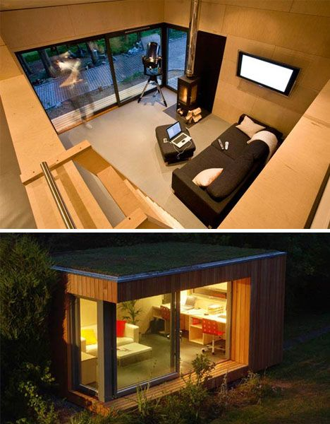 modular guest house design, prefab homes