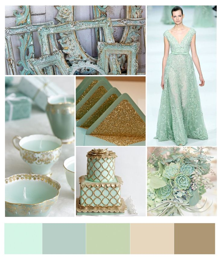 17 Best Ideas About Mint Gold Weddings On Pinterest