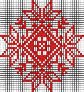 patron tricot motif