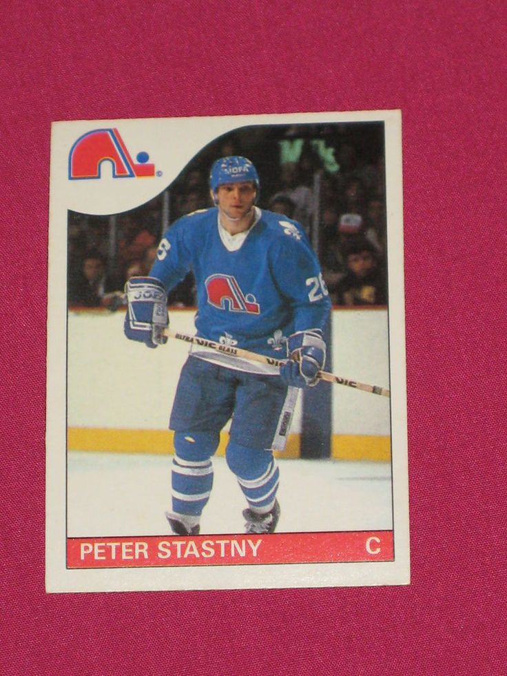 1985-86 #31 Peter Stastny, O-Pee-Chee OPC Quebec Nordiques, NHL Hockey Card (B) | eBay