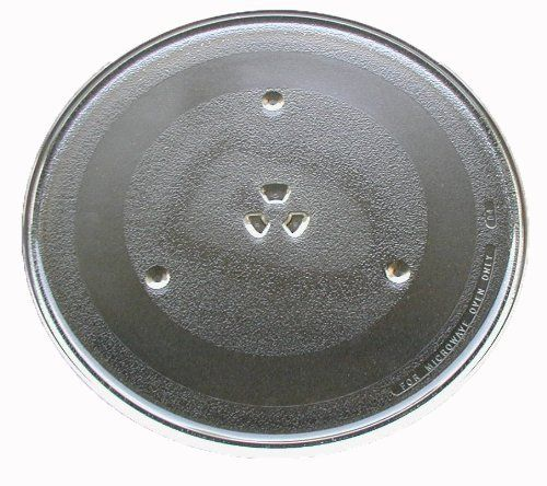 "Panasonic Microwave Glass Turntable Plate / Tray 13 1/2 "" F06014T00AP by Panasonic. $23.96. This microwave plate ONLY fits the Panasonic models listed below. If you are unsure about compatibility please email us with your model number BEFORE ORDERING.. Outside diameter of turntable track is 10 7/8 inches.. Glass turntable plate / tray for Panasonic microwave ovens.. Measures approximately 13 1/2 inches (345 mm) in overall diameter.. This microwave tray replaces Panasonic par..."