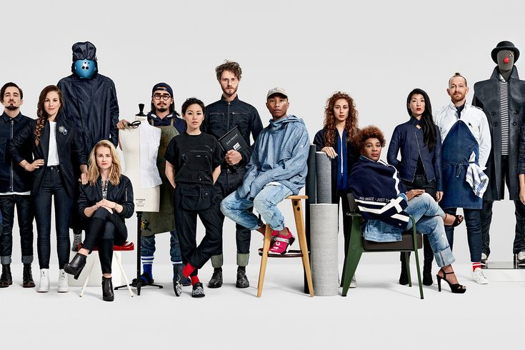 G-STAR RAW Fall Winter 2016 Campaign Featuring Pharrell Williams