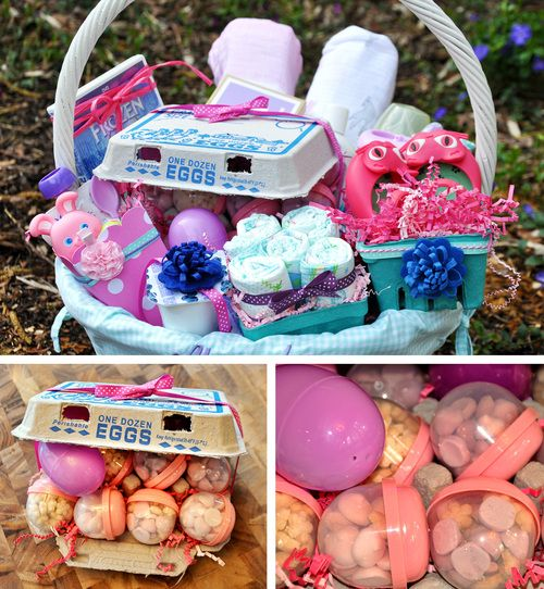 13 best easter ideas babies images on pinterest babys first easter basket negle