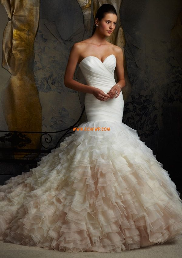 Srdíčko Podzim Vrstvy Svatební šaty 2014