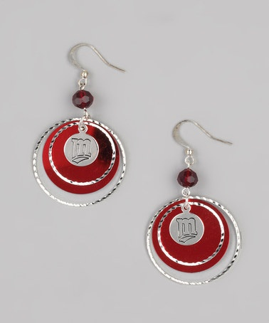 Take a look at this Minnesota Twins Game-Day Earrings by LogoArt on #zulily today!