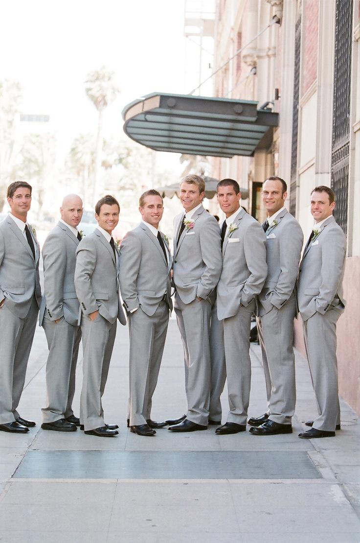 Beautiful Light Gray Suit Wedding Images - Styles & Ideas 2018 ...