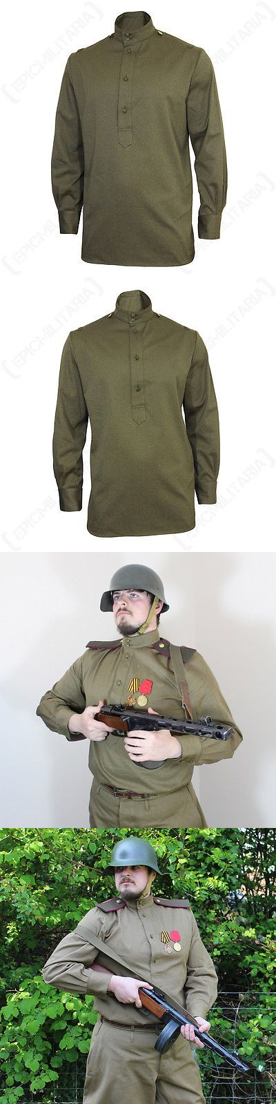 Waist Packs and Bags 181380: Ww2 Russian M43 Gimnasterka Tunic - Repro Soviet Army Military Khaki All Sizes -> BUY IT NOW ONLY: $110.55 on eBay!