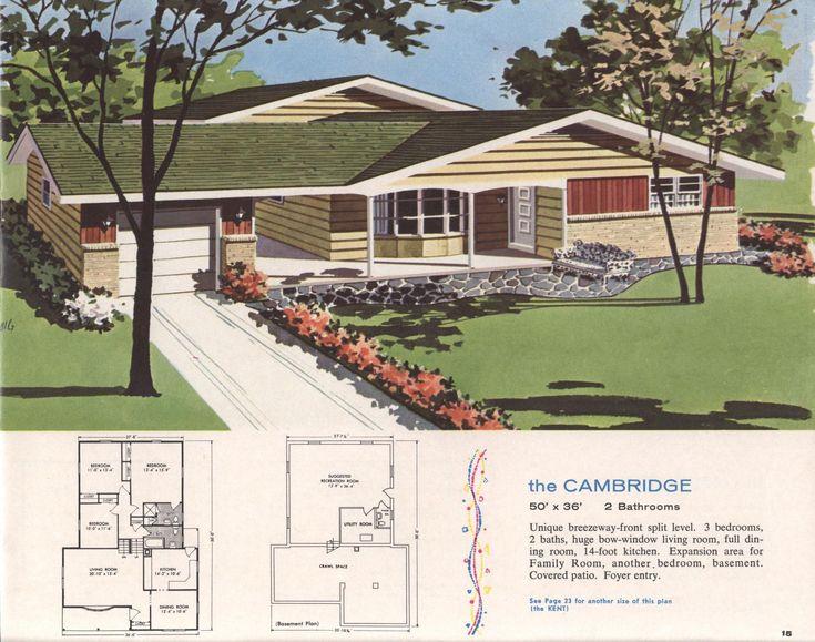 High Quality Hilco Homes : Hilco Homes : Free Download, Borrow, And Streaming. Vintage House  PlansModern ...