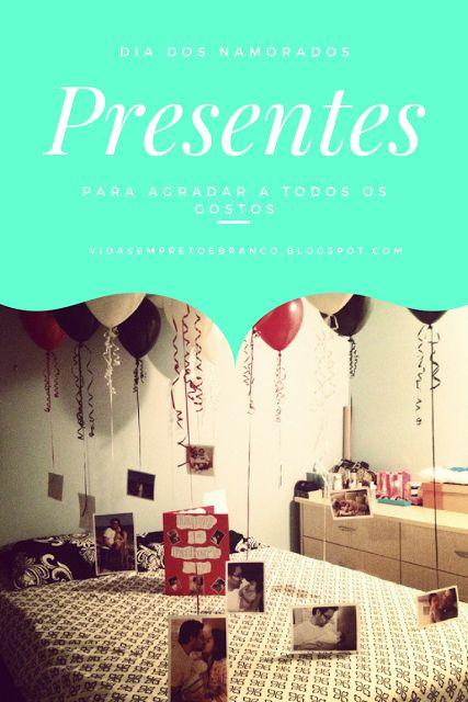 Vidas em Preto e Branco: [Especial de Dia dos Namorados] Idéias de presentes