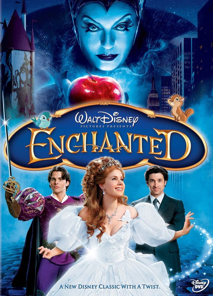 All credits and rights go to owner of this photo.  I own nothing. Film: Enchanted (2007) Director: Kevin Lima Cast: Amy Adams, Patrick Dempsey, James Marsden, Timonthy Spall, Idina Menzel, Rachel C...