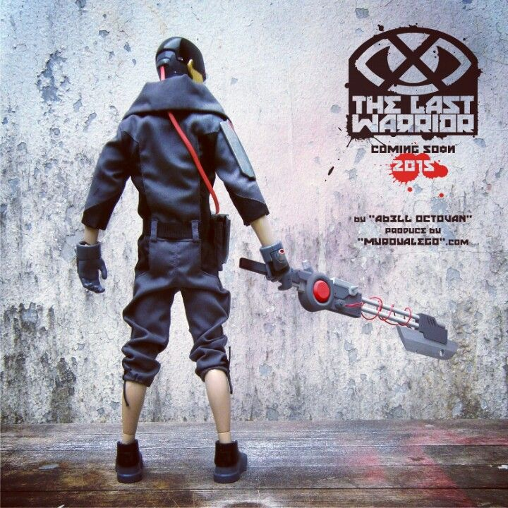 """""""The Last Warrior"""" . . . 2015 . . . onesixth figure, limited to 12pcs only."""