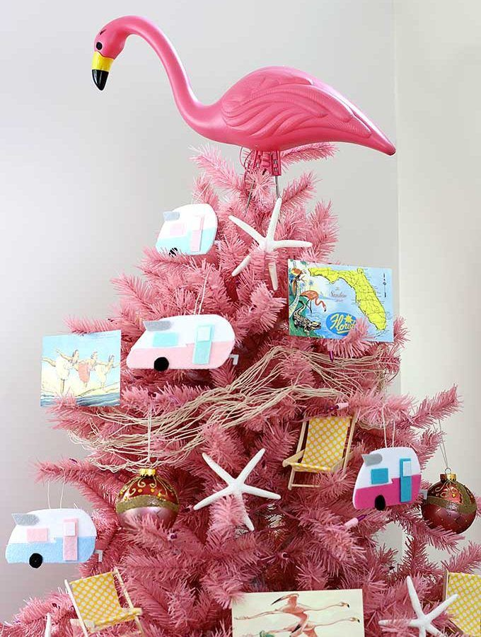 Image result for flamingo tree topper - Image Result For Flamingo Tree Topper A Tropical Getaway Christmas