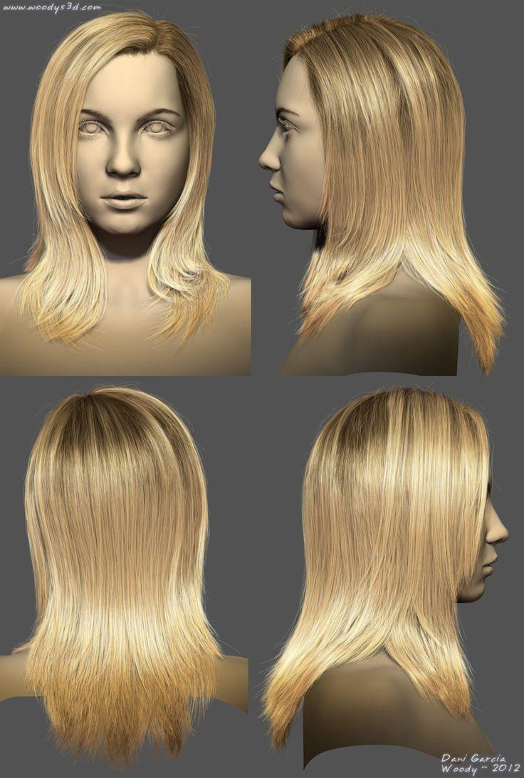 2012 Hairstyles 04, Dani Garcia on ArtStation at https://www.artstation.com/artwork/1xXZ