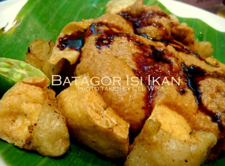 Batagor Isi Ikan/Udang/Daging/Ayam bakso baso tahu goreng saus kacang