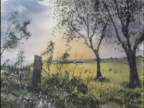 Using a photo as reference for your watercolour painting