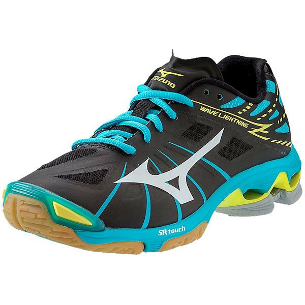 Mizuno WAVE LUMINOUS - Volleyball shoes - aqua splash/blue sapphire