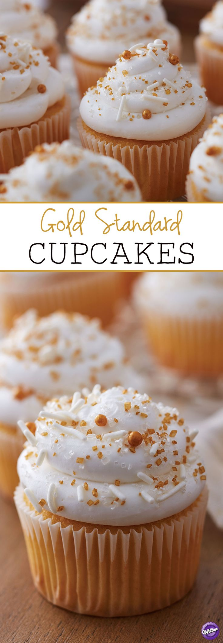 cupcake recipes for bridal shower%0A The Gold Standard Cupcakes