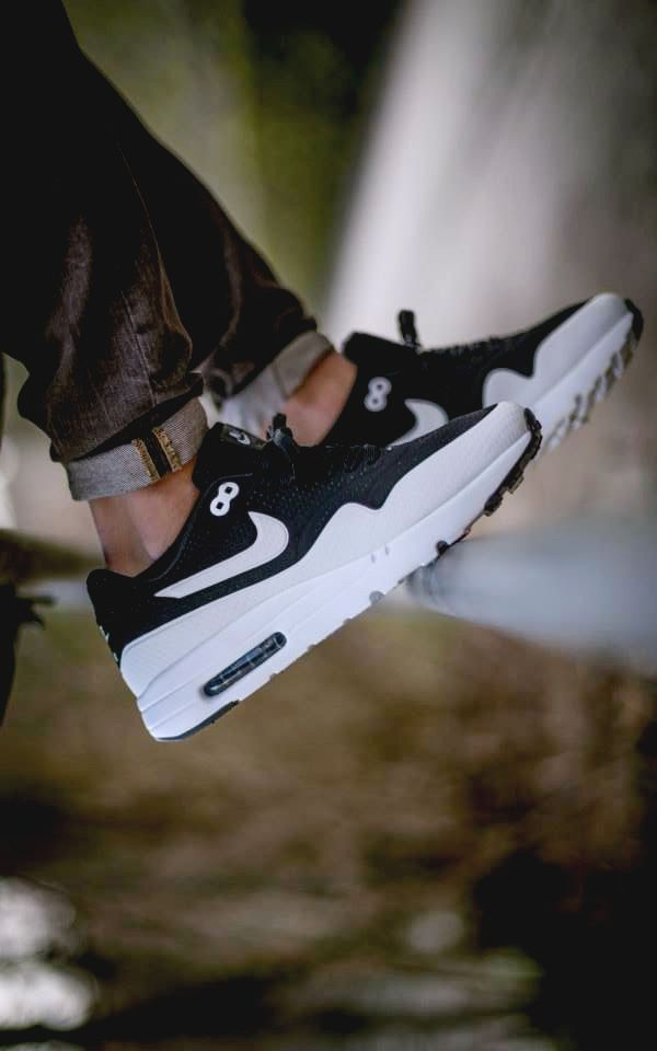 the best attitude ef12f 187bc Price Down Buy 2016 Mens Nike Air Max 90 Black White Tourist Shoes 176 best S  H O E S images on Pinterest ...