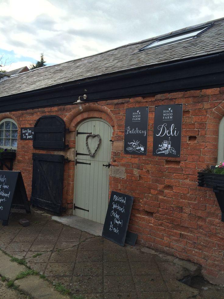 Hackwood farm // deli & butchery chalk boards