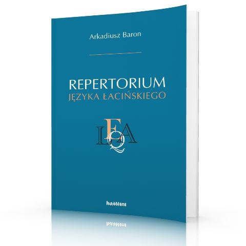 Arkadiusz Baron Repertorium jezyka łacińskiego  http://tyniec.com.pl/product_info.php?cPath=36&products_id=913