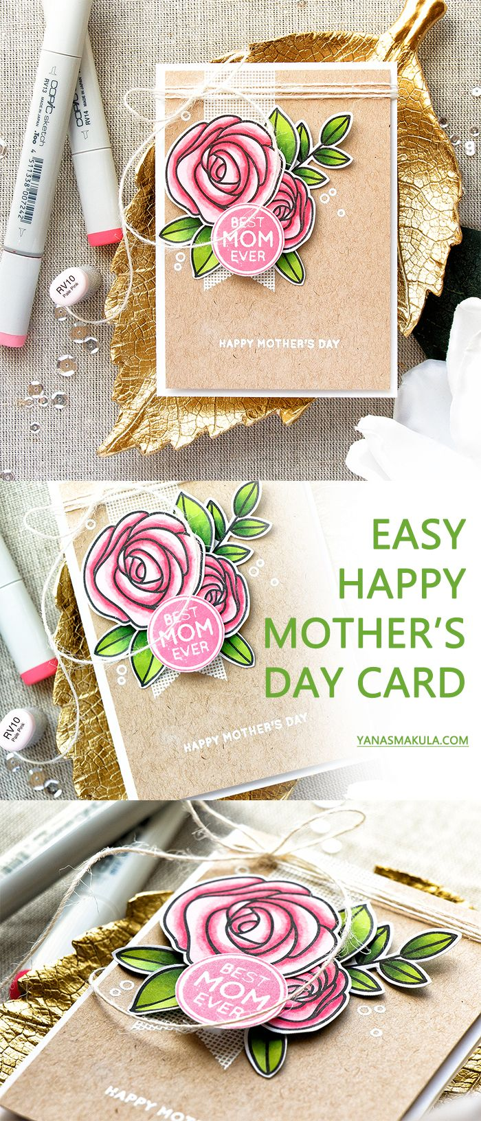 17 best ideas about happy mothers day on pinterest for Classy mothers day cards
