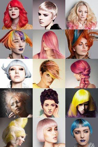 Tanta voglia di un tocco di colore :) #capelli #fluo