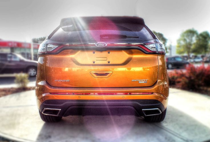 Electric Spice Ford Edge Awd Ecoboost