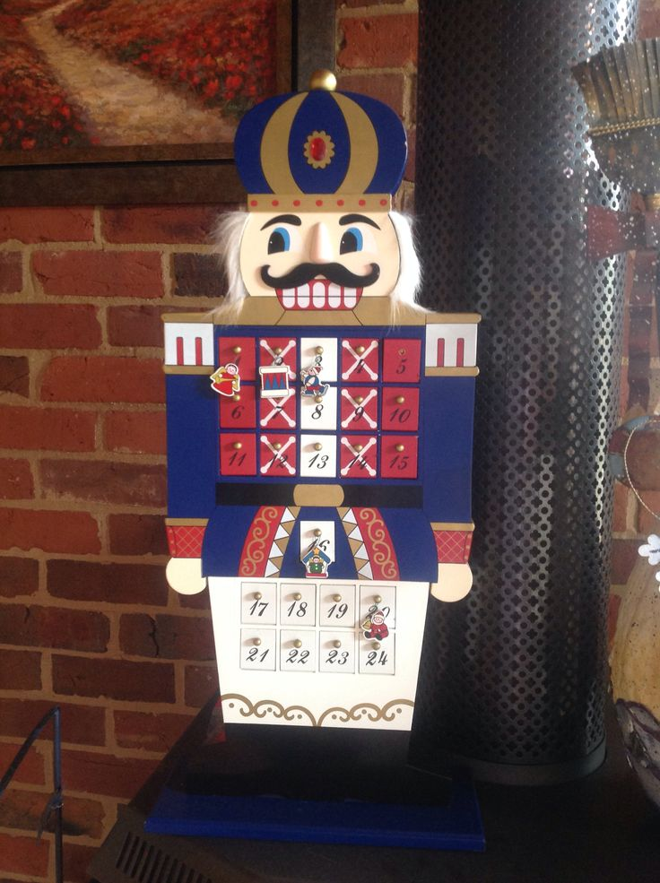 Christmas at ELMS-HAVEN. Nutcracker advent calendar.