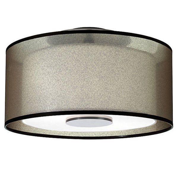 New Modern Saturnia Semi-Flushmount Drum Pendant Lighting Ceiling Fixtures Lamps #Cheerhuzz #Modern