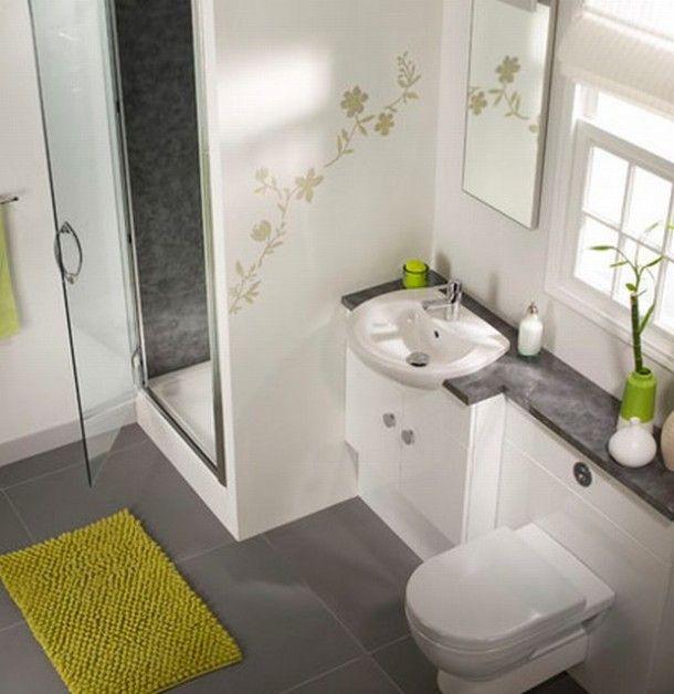 Ideeën voor mijn kleine badkamer   Kleine badkamer met toilet. Door Joke