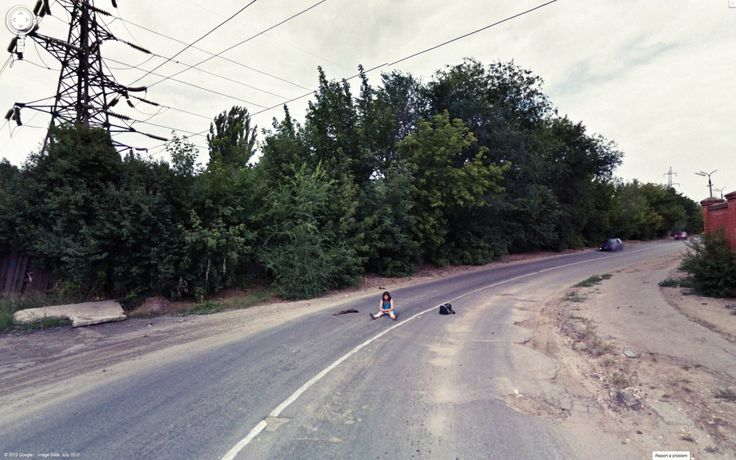 ~ Google Street View and Jon Rafman