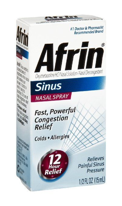 #Afrin #Sinus 12 Hour Nasal Spray to get relief from nasal congestion and blocked nose. #Pharmacy