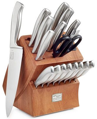 Chicago Cutlery Insignia Cafe 18 Piece Cutlery Set - Cutlery & Knives - Kitchen - Macy's