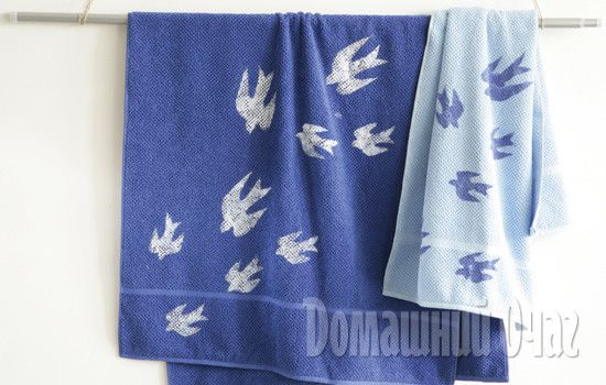 Украшаем пляжные полотенца