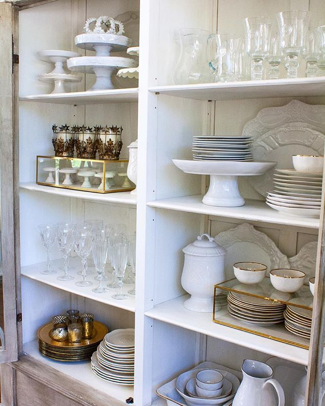 20 best china cabinet arrangements images on pinterest for Best kitchen cabinet arrangement