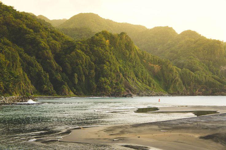 Les côtes sauvages de Grand-Rivière Martinique
