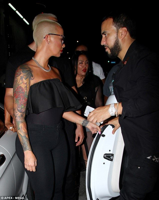 Amber Rose And French Montana Dating?
