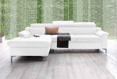 exxpo by Gala Polsterecke, wahlweise mit Bettfunktion    #couch #sofa #ecksofa #polsterecke #wohnzimmer #inspo #interior #einrichtung #polstermöbel #möbel #schlafsofa