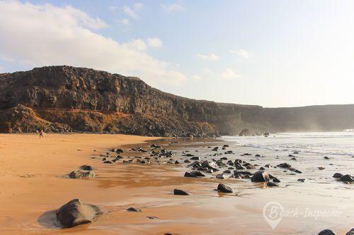 Playa de Esquinzo auf Fuerteventura in Spanien