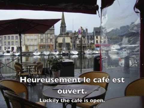Le petit déjeuner (French/English listening practice) - YouTube