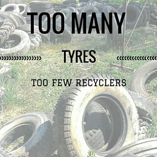 Recycle Creative - Blog - 1 billion waste tyres per year!