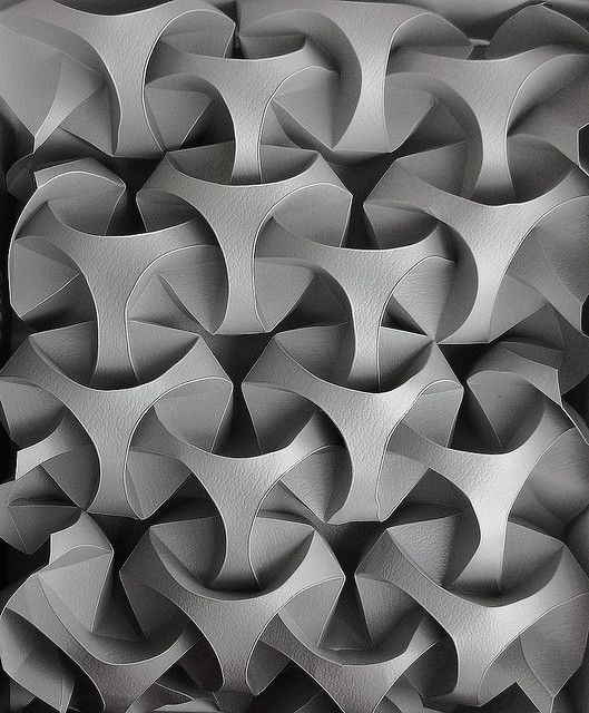 beautiful curved origami by Andrea Russo