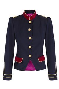 Image of Condesa clásica Military jacket Gold buttons www.lacondesa.es
