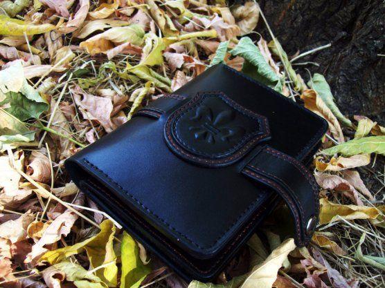 Мужское портмоне-бумажник  handmade