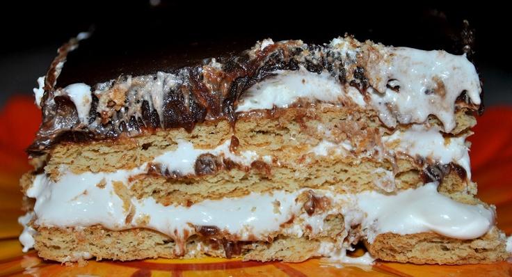 Smore Ice Box Cake