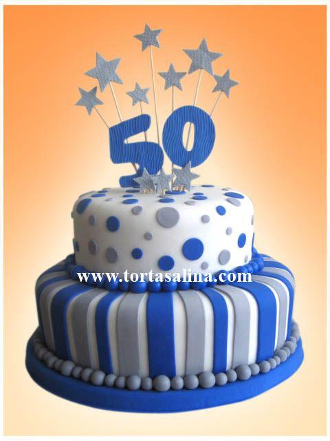 Por ser una celebración importante podemos crear juntos una torta original afín a los gustos y a la personalidad de los festejados.