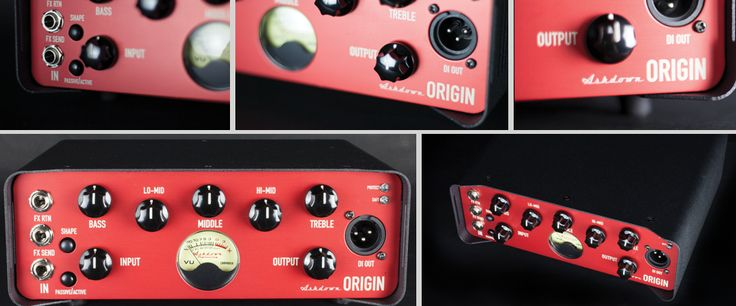 Ashdown Origin, 300 Watt Bass Head, soon available from stock!