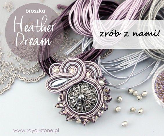 Sutasz | Royal-Stone blog  Broszka sutasz tutorial  Soutache brooch tutorial