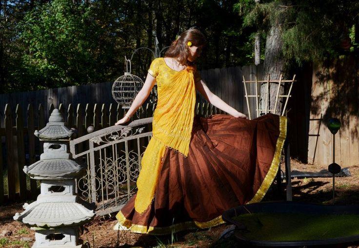 My favorite Golden Gopi Dress